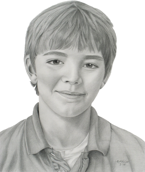 Pencil portraits by brenda schiro