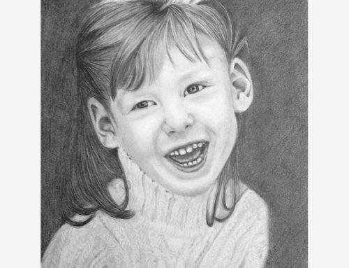 Allie's Pencil Portrait