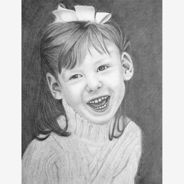 Pencil Portraits - children