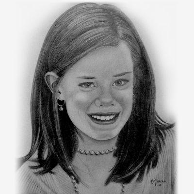 Pencil Portraits of Children
