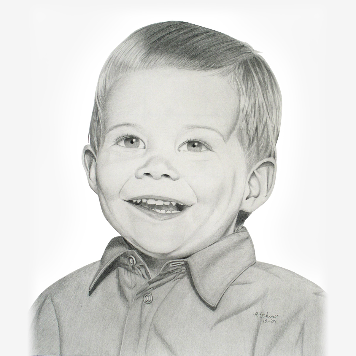 Child Pencil Portraits