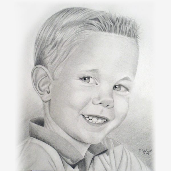 Pencil Portraits for Children