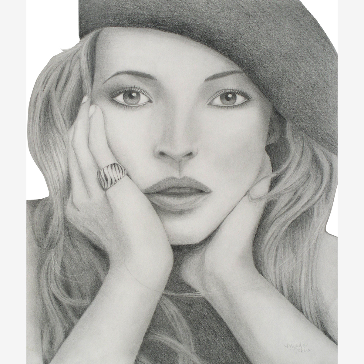 Celebrity Pencil Portraits