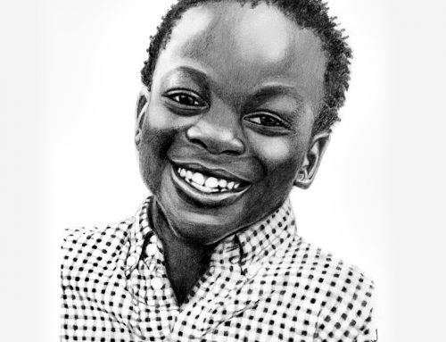 Kisule's Pencil Portrait