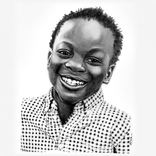 Pencil Portraits of children