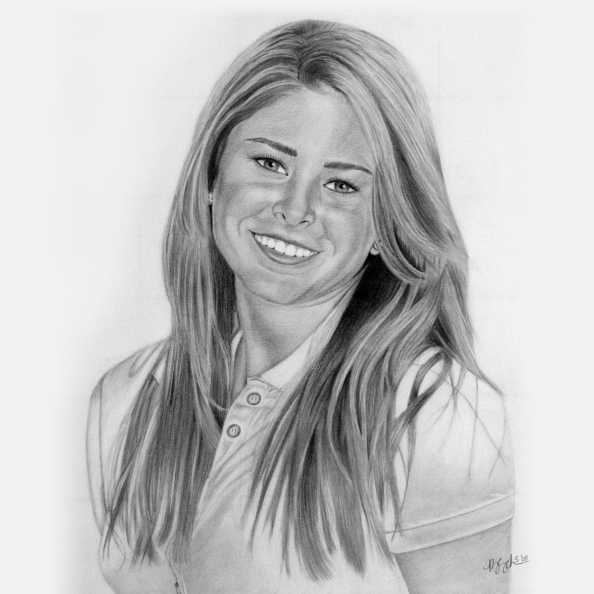 Teen Pencil Portraits - children, young adults