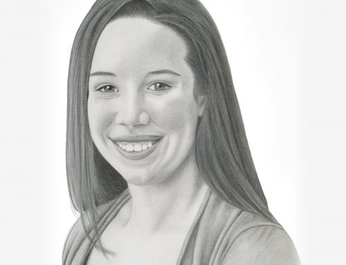 Rachel's Pencil Portrait