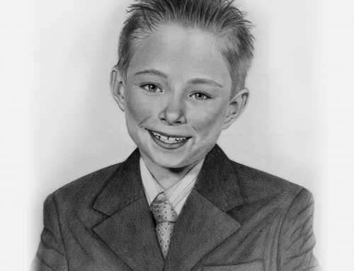 Tucker's Pencil Portrait