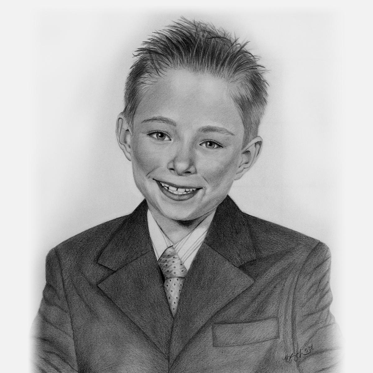 Pencil Portraits - children