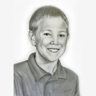 Child Pencil Portrait
