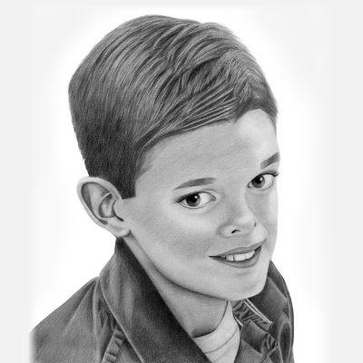 Children Pencil Portraits