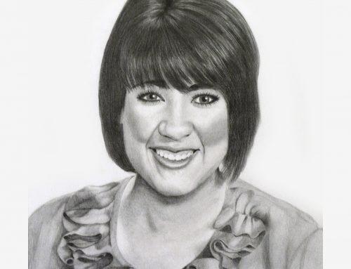Lady 2263 Pencil Portrait