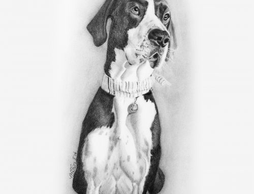Pepper's Pencil Portrait