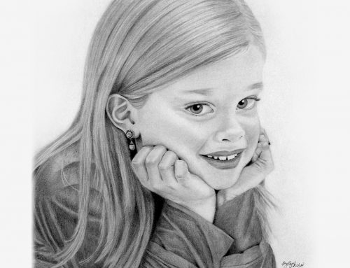 Sydney's Pencil Portrait